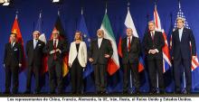 RUEDA DE PRENSA SOBRE LOS AVANCES DE LAS NEGOCIACIONES SOBRE EL PROGRAMA NUCLEAR IRANÍ