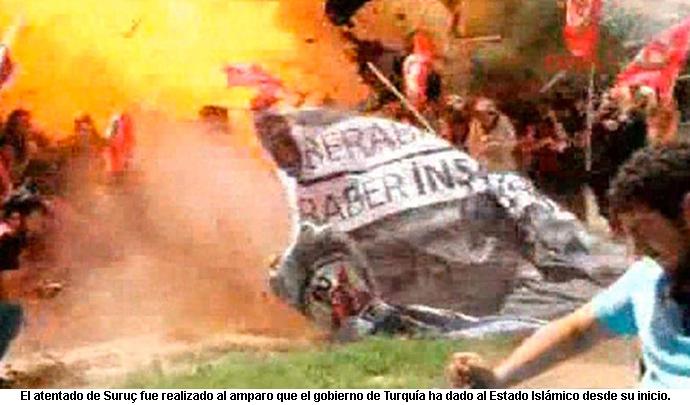 Erdogan le declara la guerra al pueblo kurdo y a la izquierda