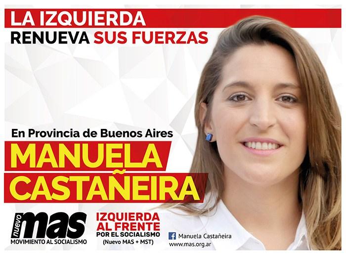 Resultado de imagen para MANUELA CASTAÑEIRA 2017 PROVINCIA DE BUENOS AIRES